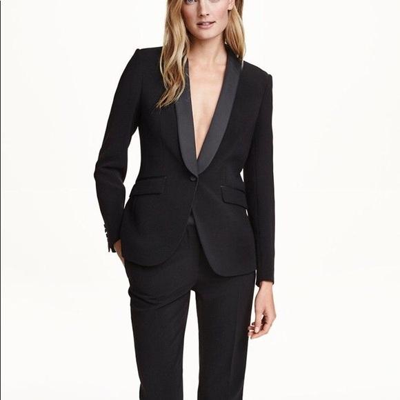 b8b6fd60f70 Yves Saint Laurent Jackets & Coats | Ysl Menswear Black Tuxedo Style ...